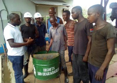Gerlance KAMBALE MUSAVULI - Waste Management Training